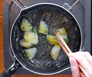 N's KITCHENお弁当レシピ:鮭のカレー焼き弁当6