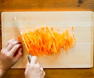 N's KITCHENお弁当レシピ:鮭のカレー焼き弁当7