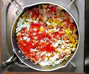 N's KITCHENお弁当レシピ:たらこスパゲッティ-3