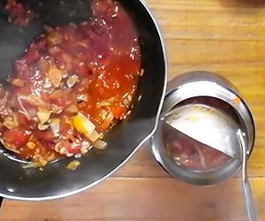 N's KITCHENお弁当レシピ:たらこスパゲッティ-4