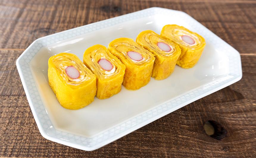カニかま卵焼き