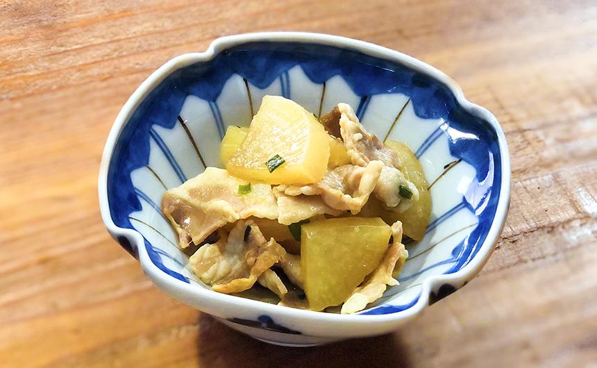 中華風豚バラ大根