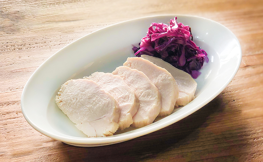 塩麹鶏ハム