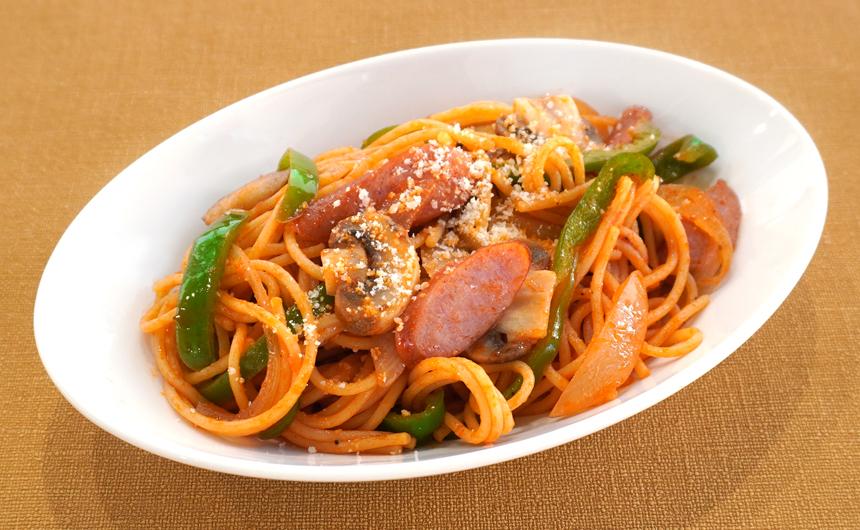 お弁当ナポリタンスパゲッティ
