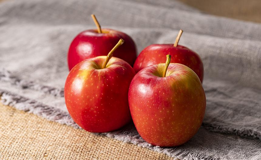 りんごを無駄なく食べるには?